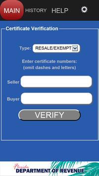 FL Tax-Verify poster