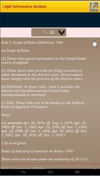 Rules of Appellate Procedure apk screenshot