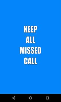 Keep All Missed Call poster