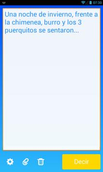 Speak! - Text aloud TTS poster