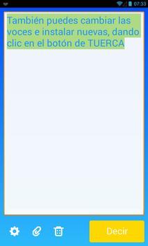 Speak! - Text aloud TTS apk screenshot