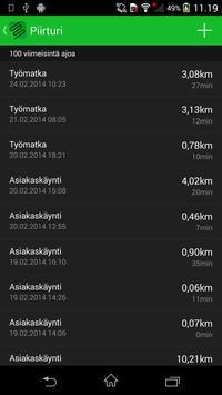 Piirturi - Drive journal apk screenshot