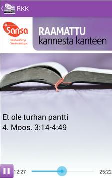 Raamattu Kannesta Kanteen poster