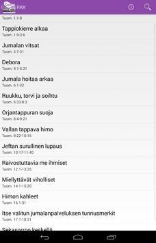 Raamattu Kannesta Kanteen apk screenshot