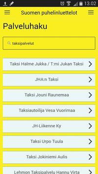 Suomen Puhelinluettelot apk screenshot