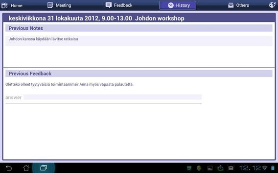 Vine CRM Sales Meeting apk screenshot