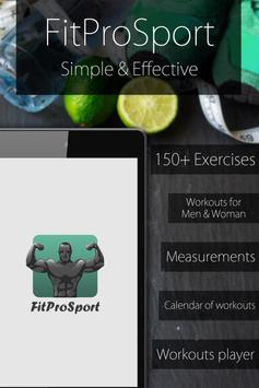 Fitness Coach FitProSport poster