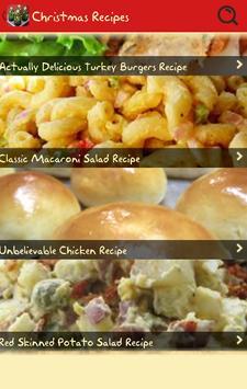 Christmas Recipe Cookbook Free apk screenshot