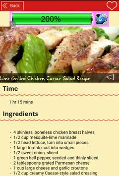 Recipes Salads apk screenshot