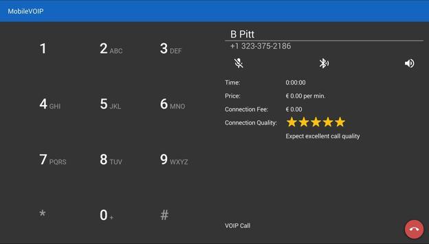 Internetcalls Wifi Dialer apk screenshot