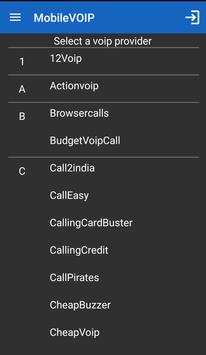 WebCallDirect cheap calls apk screenshot