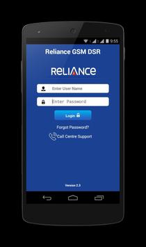 Reliance GSM DSR poster