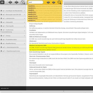 Fluke Messfibel Apps apk screenshot