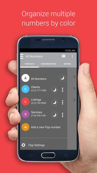 Flyp - Multiple Phone Numbers apk screenshot