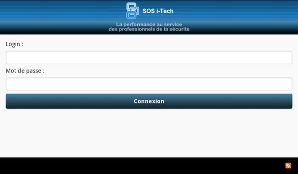 SOS i-Tech apk screenshot