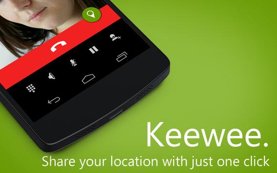 Keewee / share my location poster
