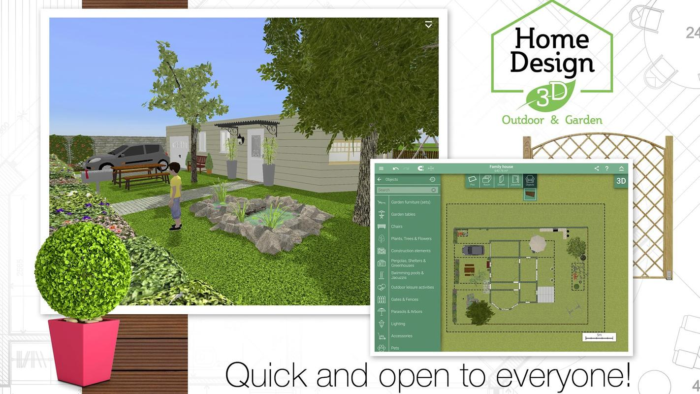 Home design 3d outdoor garden apk download free for 3d home