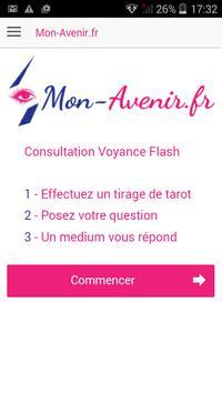 Voyance & Tirage de tarot poster