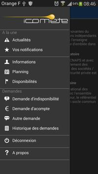 iComète apk screenshot