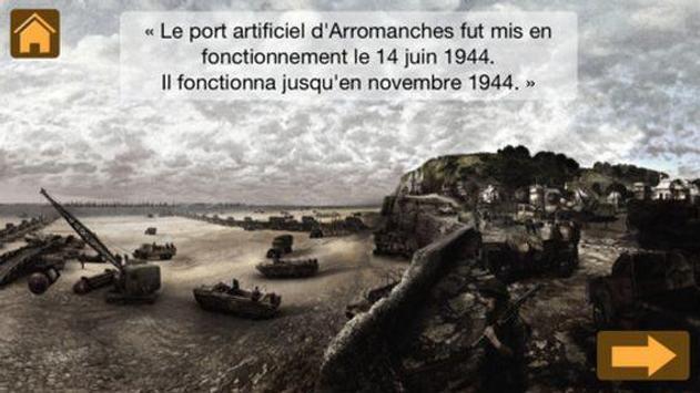 Arromanches 1944 poster