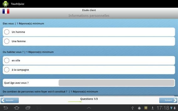 TouchQuizz apk screenshot