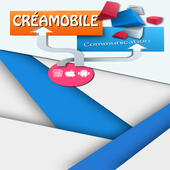 Créamobile communication icon