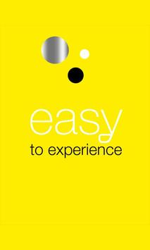 Easy to experience poster