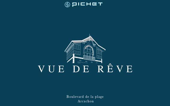 """""""Vue de Rêve"""" - Arcachon poster"""