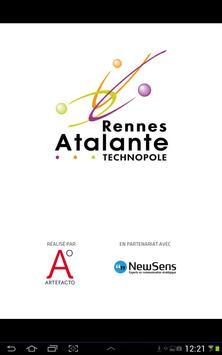 Rennes Atalante 3D poster