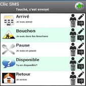Clic SMS icon
