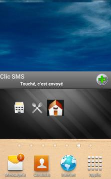 Clic SMS poster