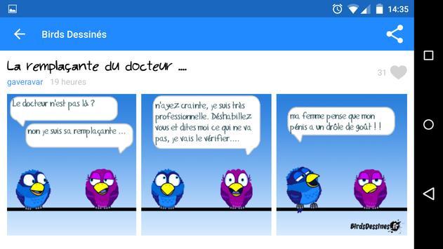 Birds Dessinés apk screenshot