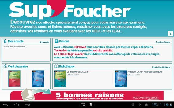 Sup'Foucher eBooks poster