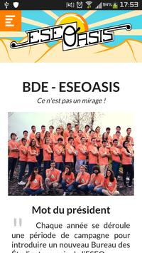ESEOASIS - Campagne BDE poster