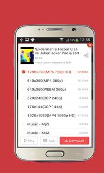 free Vid Mate downloader prank apk screenshot