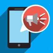 Caller Name Speaker icon