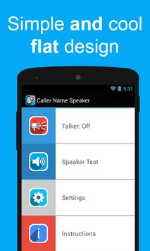 Caller Name Speaker apk screenshot