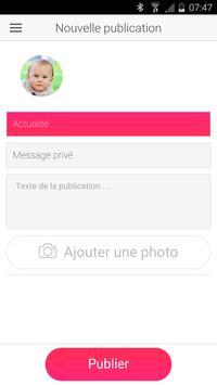Journal de Nanny-Suivi de bébé apk screenshot