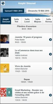 Joomladay France 2015 apk screenshot