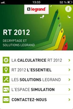 RT 2012, l'essentiel. Legrand poster