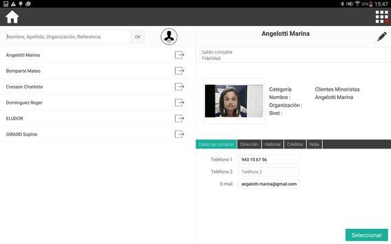 RoverCash, Registradora táctil apk screenshot