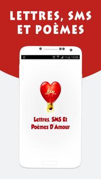 Messages d'amour et Poèmes apk screenshot