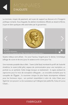 Fabrique Romaine avec Auguste apk screenshot