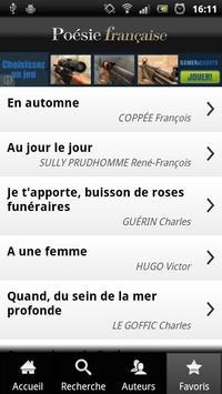 Poésie Fr apk screenshot