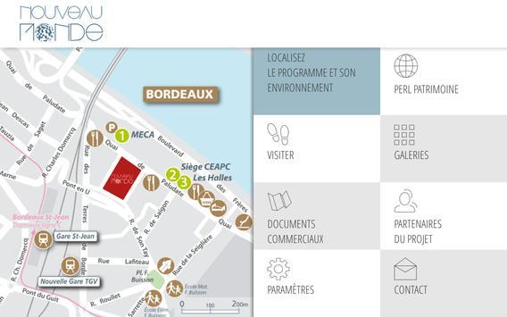 """PERL """"Nouveau Monde"""" Bordeaux apk screenshot"""