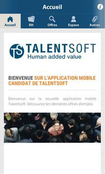 Talentsoft recrute apk screenshot