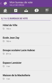 Mon Bureau de Vote - Croix apk screenshot