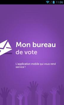 Mon Bureau de Vote - Croix poster