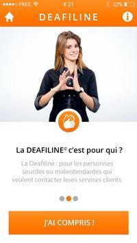 Deafiline apk screenshot