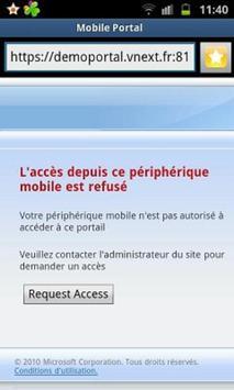 UAG Mobile Portal apk screenshot